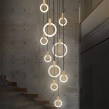 Nordic Led Acrylic Art Pendant Lights Bedroom Modrn Living Room Study Pendant Lamps Stair Villa Lighting Fixture Luminaire Avize nordic led acrylic art pendant lights bedroom modrn living room study pendant lamps stair villa lighting fixture luminaire avize