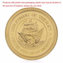 Sea Land Air Seal Team Gold Plated Commemorative Challenge Coin Token Art Gift(China)