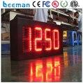 Leeman из светодиодов для дата время температура на открытом воздухе из светодиодов света красный цвет P10