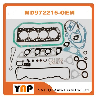 Overhaul Gasket Kit Engine FOR FITMITSUBISHI Galant Pjero Delica L300 L200 4D55 4D56 2.3L 2.5L L4 8V MD972215 1983-1985