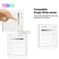 Mi Light B1 4 Zone Brightness Dimmer Smart Touch Panel Remote Controller Powerd By 3V 2