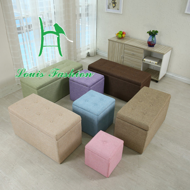 Multi Functional Storage Receive Stool Can Sit Stool Folding Bin Toy Box  Function Of Stool