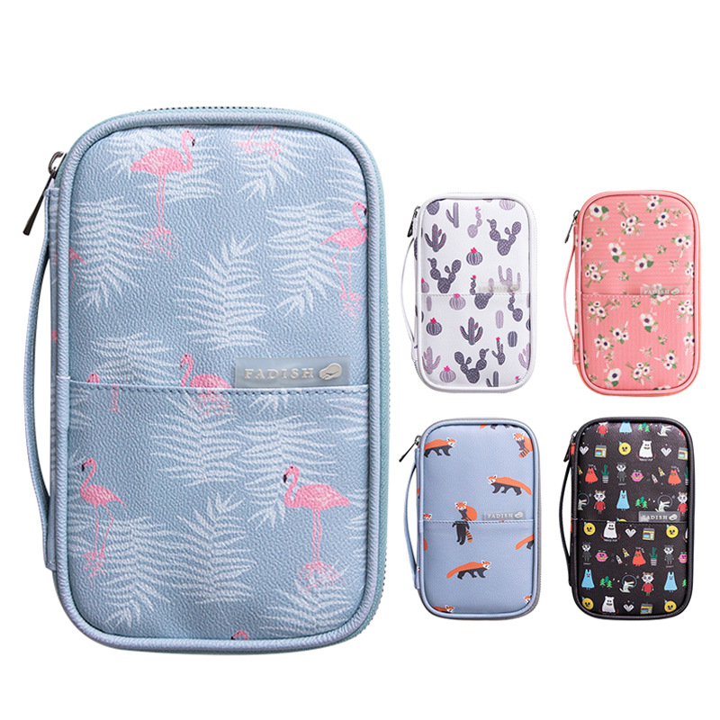Big Capacity Pencil Card Pouch Bag Storage Bag For Passport Office Desk Accessories Set School Supplies Office Desk Accessories
