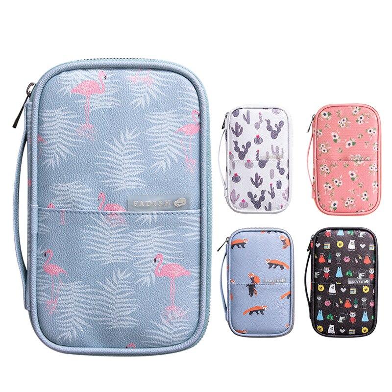 Big Capacity Pencil Card Pouch Bag Storage Bag for Passport Office Desk Accessories Set School Supplies Office Desk Accessories