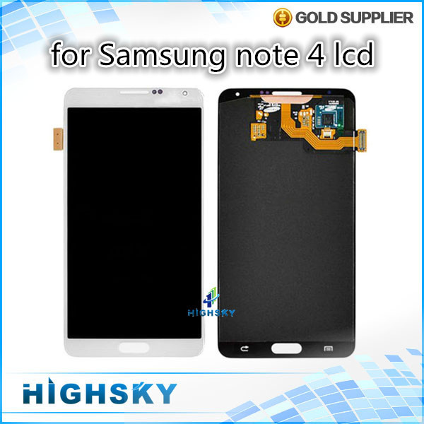 For SM-N910 tested screen for lcd Samsung Galaxy Note 4 N9100 disply with touch assembly 5 pcs/lot DHL EMS free shipping 5 pieces lot free dhl ems shipping tested for samsung galaxy s6 edge lcd display sm g925 g9250 screen with touch digitizer