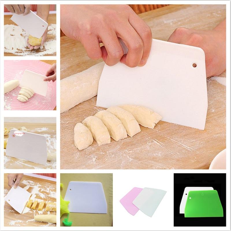 1 Pcs Dijual Cream Halus Kue Trapesium Spatula Baking Pastry Alat Adonan Pengikis Dapur Pisau Mentega Adonan Cutter Kualitas Tinggi