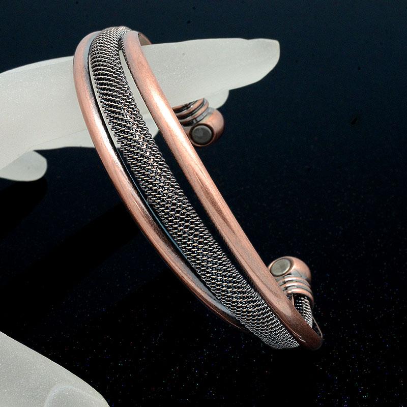 4c1439996497 Escalus de onda magnética pulsera de la joyería para las mujeres de Color  oro regalo de
