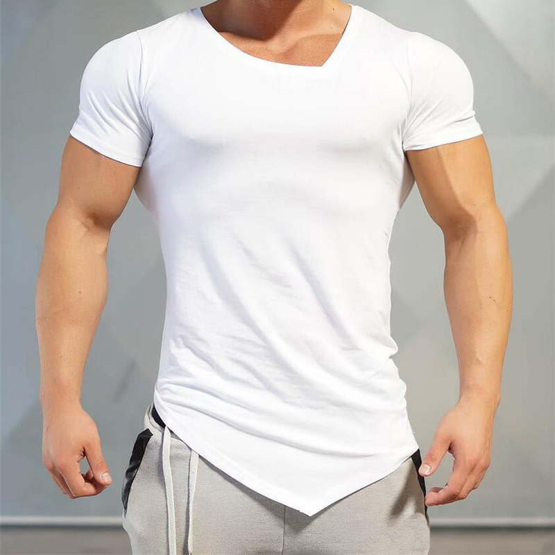 T-Shirt Workout Top Training Mens Bodybuilding Gym Wear Grey X-Tee 1 Rep Max
