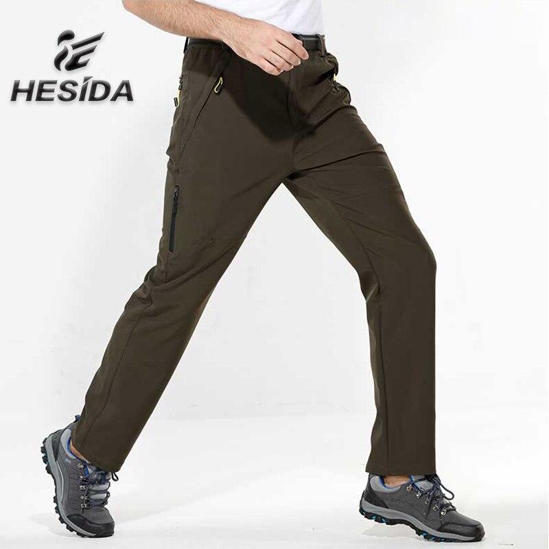 Nouveaux pantalons de randonnée hommes en plein air Trekking pantalon respirant sport coupe-vent Softshell pantalon pour Camping escalade pêche