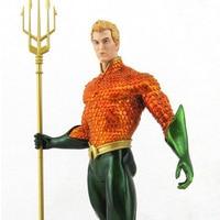 Chanycore Aquaman 25cm 1pcs PVC Figure DC Comics Justice League Action Anime Figures Models Decoration Kids Gifts Toys 1182
