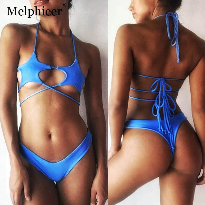 Swimming Swimwear Women Badpak Sexy Bikini Push Up Brazilian Bikinis Set Swimsuit Bowknot Bathing Suit Bechwear Bandage Maillot De Bain Quality First