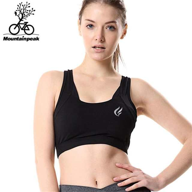 563ef0a786 placeholder Mountainpeak Women Sports Bra 5 Colours Yoga Underwear Vest Gym  Fitness Running Bra No Rims Full