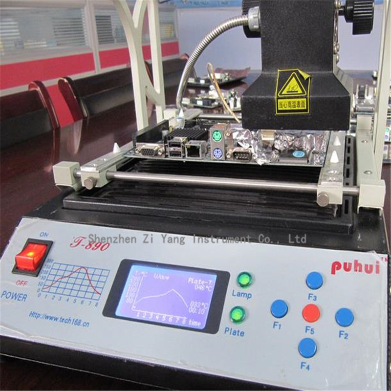 PUHUI T-890 T890 BGA Double Digital Infrared Station BGA/IRDA/IFR/SMD/SMT WELDER Basic Solder Station 220V