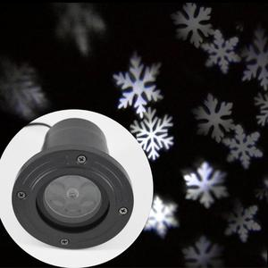 Image 3 - LED Christmas Projector Lights Outdoor Lamp Dynamic Snowflake Effect Garden Moving Xmas Stage Light Waterproof Landscape Light
