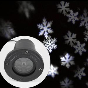 Image 3 - LED חג המולד מקרן אורות חיצוני מנורת דינמי פתית שלג אפקט גן נע Xmas שלב אור עמיד למים נוף אור