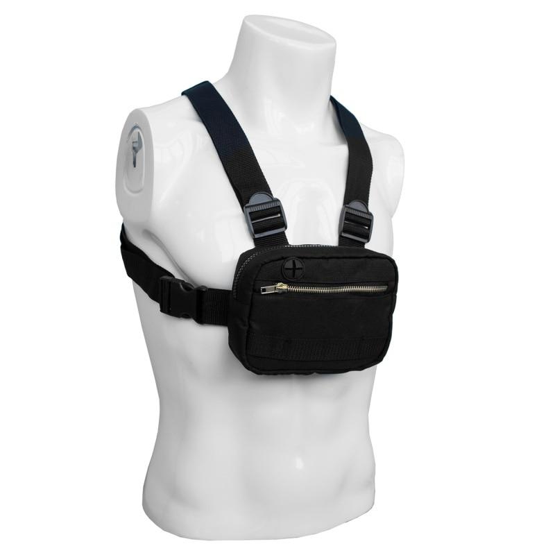 Chest Rig Hip Hop Bag Adjustable Men Tactical Vest Shoulder Bags Waist Kanye West Streetwear Waist Functional Packs