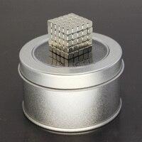 Zhenwei 5mm 125 Pcs Magnetic Fidget Cube Ed Puzzle Game Magnetic Square Cubes Toy Children Adults