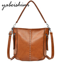 women leather luxury handbags women bags designer 2019 ladies shoulder bag tote high quality crossbody bags for women sac a main