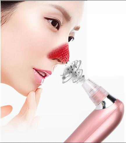 цены на Electronic Facial Pore Cleaner Nose Blackhead Cleansing Acne Remover Vacuum Comedo Suction Tool Skin Care Massage Beauty Machine в интернет-магазинах