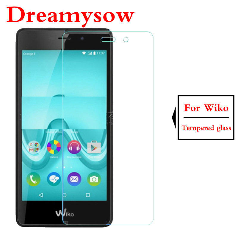 Screen Protector Protective Film Tempered Glass For Wiko U Feel Lite/U Feel Prime/Go/Fab /jerry2 max/view 2 Pro Lite/ Sunset 2