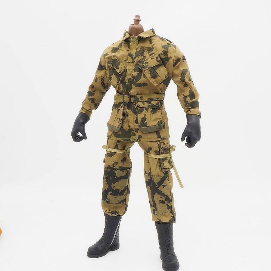1//6th Scale Soviet//Russian Sniper Camo Jumpsuit