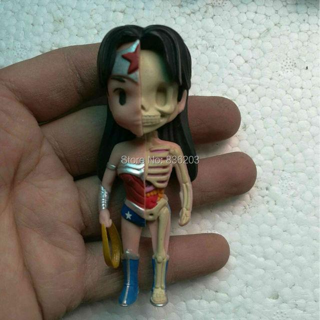 4d Master visión Mujer Maravilla xxray Mighty jaxx anatomía ...