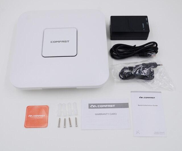 2 ШТ. Новый, COMFAST Беспроводной 802.11AC двухдиапазонный Wi-Fi Ретранслятор Ap 1750 Мбит Крытый AP Маршрутизатор CF-E380AC 5 ГГЦ + 2.4 ГГЦ wi-fi Точки Доступа