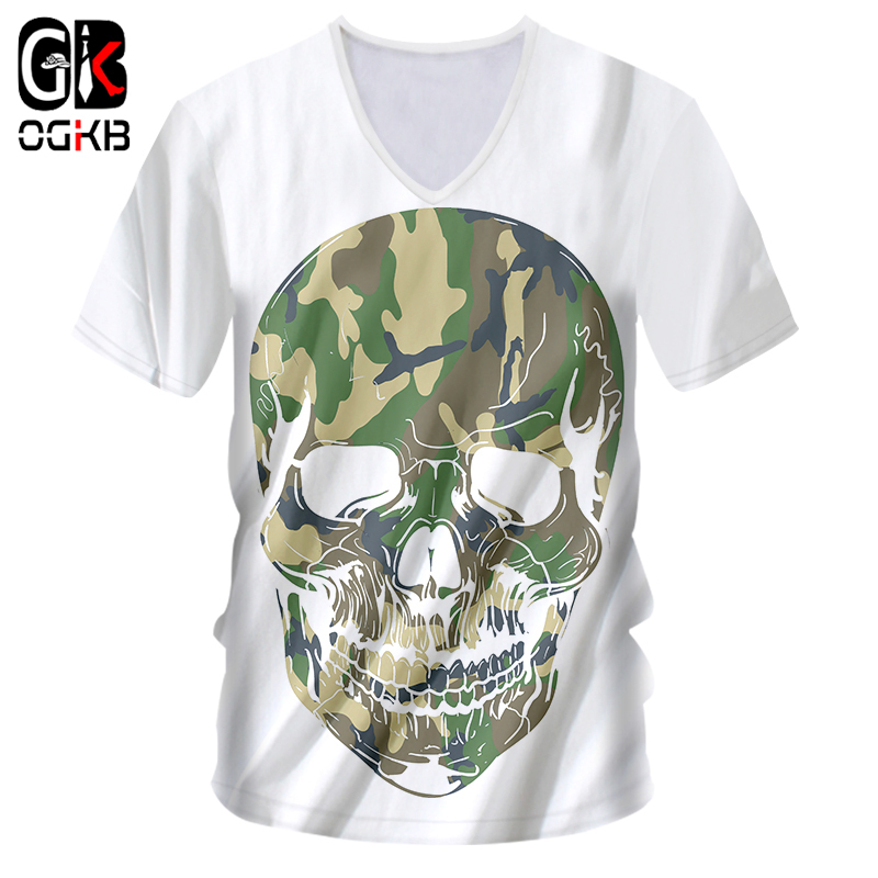 Switches Ogkb Man Tee Shirt New O Neck T-shirt Halloween Pumpkin And Camouflage Skull 3d Printed Loose 7xl Mens Summer Hooded Tshirt Lighting Accessories
