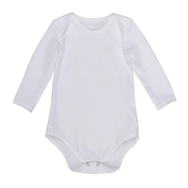 235721177303c9 Bodysuit Bebê recém-nascido Da Menina do Menino Roupas de Manga Longa 100%  algodão Unisex Bebê Confortável - Roupa Low Cost