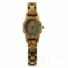 2017 new fashion luxury brand ladies casual watch irregular dial wooden Japanese movement quartz watch
