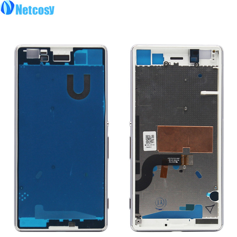 Netcosy Middle Mid Plate Frame Bezel Housing Cover for Sony Xperia M5 E5603 E5606 E5653 M5 Dual Middle Frame Board Replacemenrt