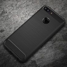 Case For Huawei Honor 9 Lite Honor 8 Cases Carbon Fiber Soft TPU ShockProof Cover For Huawei P8 Lite 2017 Case Honor 6A Cases(China)