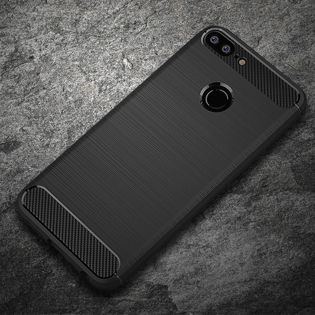Case For Huawei Honor 9 Lite Honor 8 Cases Carbon Fiber Soft TPU ShockProof Cover For Huawei P8 Lite 2017 Case Honor 6A Cases