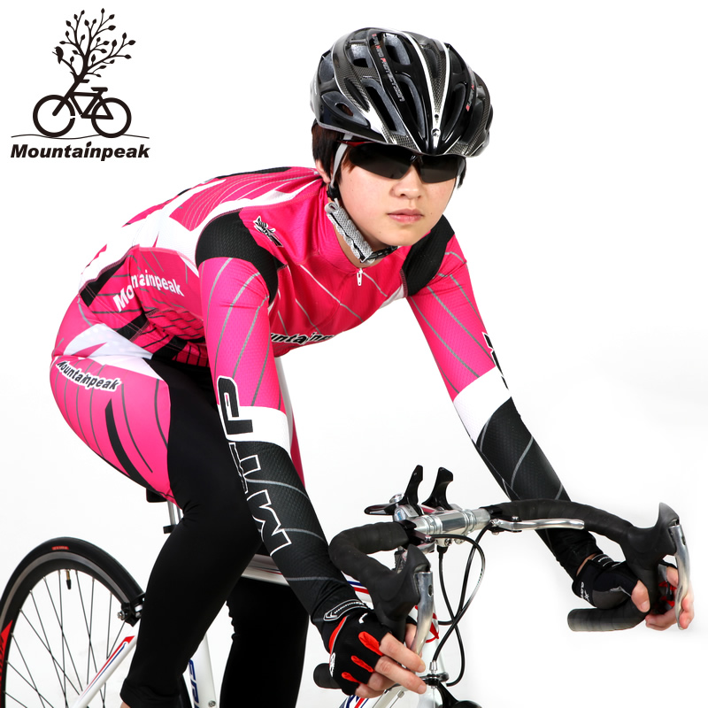 Spring New Cycling Jerseys Female Long Suit Bike Riding Trousers Cycling Equipment Vertical and Horizontal