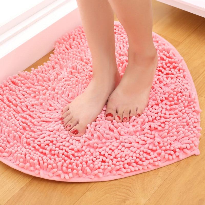 rose salle de bains tapis - Tapie Salle De Bain Aliexpress