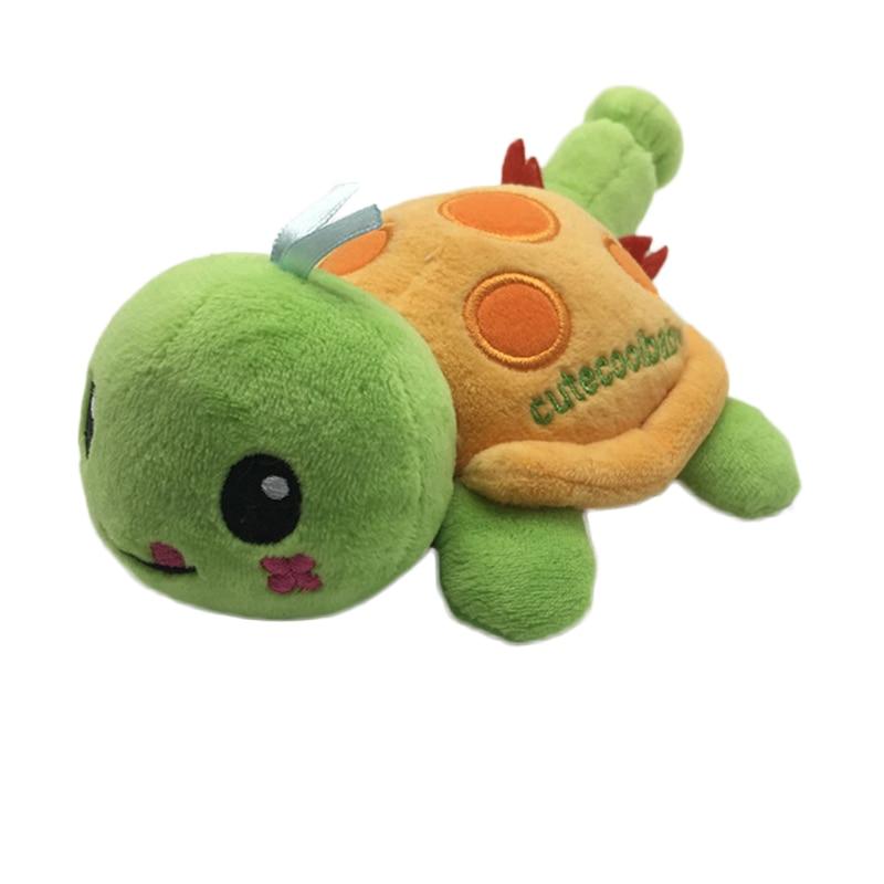 Music Box Soft Plush Toy Baby Rattle Cartoon Animal Tortoise Gift