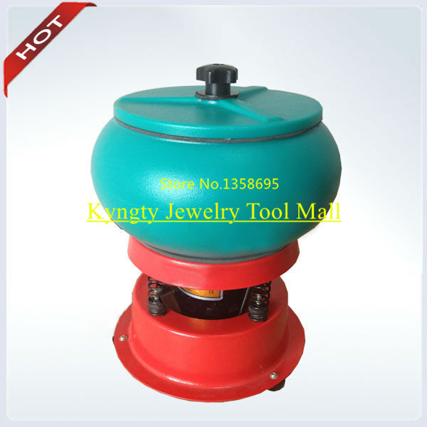 FREE SHIPPING 3kg Capacity Vibratory Rock Tumbler Mini Vibratory Polishing machine Jewelry tools and machine 220V
