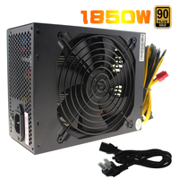 1850W Switching Power Supply 90 PLUS Gold Atx Power Supply For Bitcoin Antminer S9 S7 L3