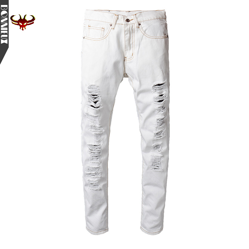 High Quality Men Jeans Summer Straight Slim Fit white pants cotton Denim Pants Trousers Classic Cowboys Young Man Jeans men jeans 2017 autumn winter mens denim jean blue cotton pants men denim trousers slim fit jeans male plus size high quality