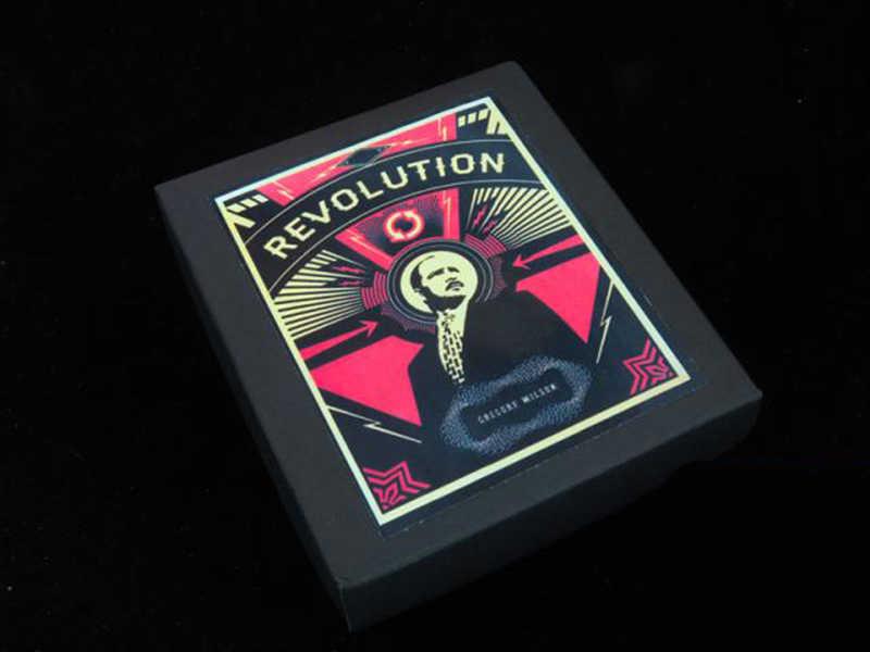 الثورة (التحايل والتعليمات) بواسطة جريج ويلسون السحرية الخدع بطاقة السحر ، والأوهام ، السحر المرحلة ، عن قرب الدعائم 81110