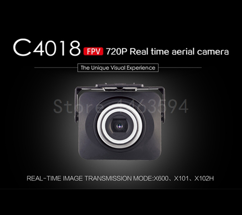Free Shipping 720p Wifi Real-time image transmission FPV HD Camera MJX C4018 camera For MJX X600 X101 X102H Quadcopter Drone image