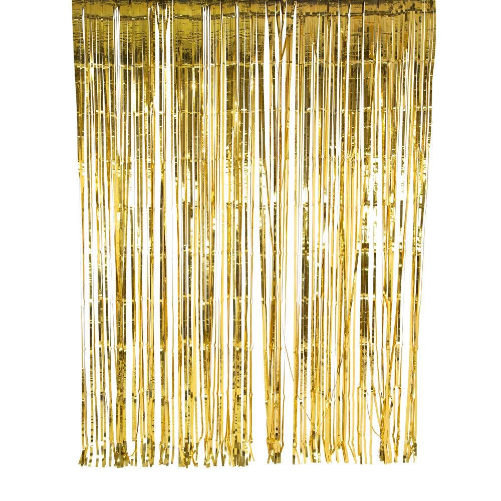 gold foil glitter curtain 2m x 2m wedding party backdrop