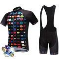 Профессиональный комплект для велоспорта MTB велосипедная одежда Maillot Ropa Ciclismo велосипедная форма комплект для велоспорта быстросохнущая ве...