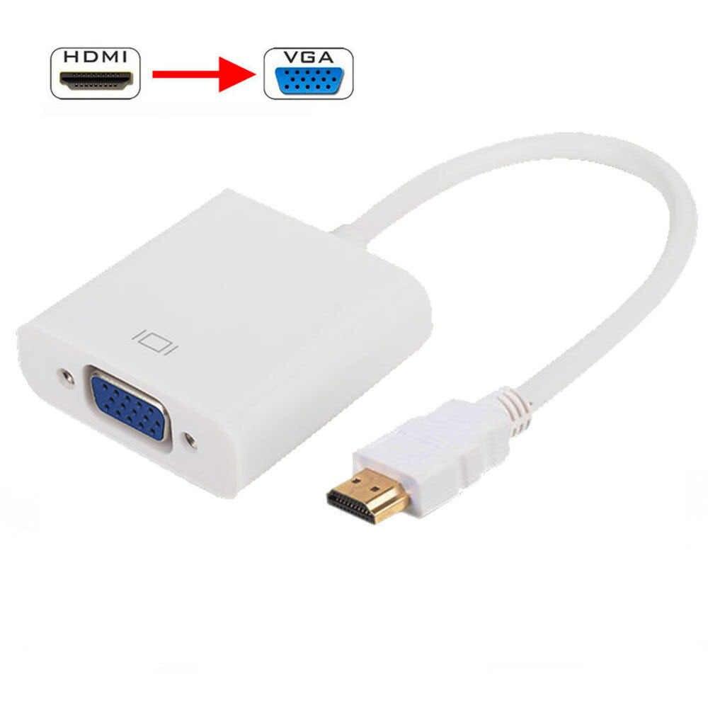 1080 P 3D Премиум HDMI к VGA кабель для HD цифровой DVB-S2 спутниковый DVB-T2 ISDB-T ATSC Декодер каналов кабельного телевидения с видеографической матрицей соединительный кабель