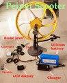 Bicicleta eléctrica de montaje dispositivo maestro DIY kit de conversación para 500 w motor y 36 v 20ah litio bettery (kit-08)