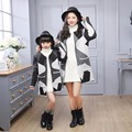 New Spring Autumn Family Look Matching Mother Daughter Girl Clothes Outfits Mom And Daughter Cardigan jacket family clothing HL8