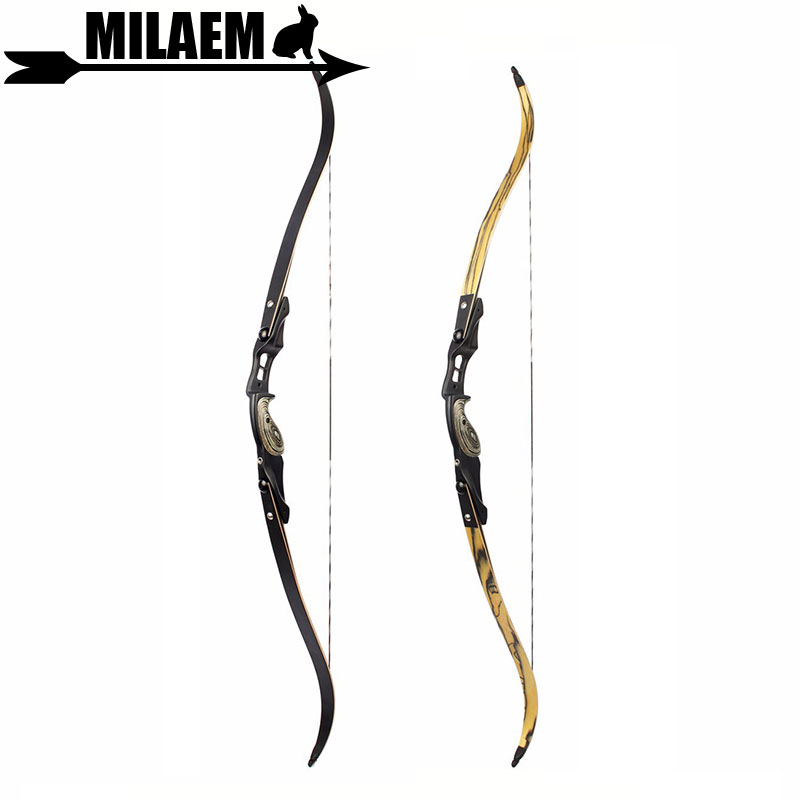 1pc 30-60lbs 60inch Archery Recurve Bow American Hunting Bow IBO 190FPS Traditional Bow Long Bow Hunting Accessory new f161 ii american recurve bow ibo 190fps with 17 inches riser 30 60lbs with accessories for archery bow hunting shooting