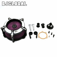 Motorcycle Air Cleaner Intake Filter KitsFor Harley Sportster XL883 XL1200 XL auto Air Cleaner Filter Scooter filtre a air moto