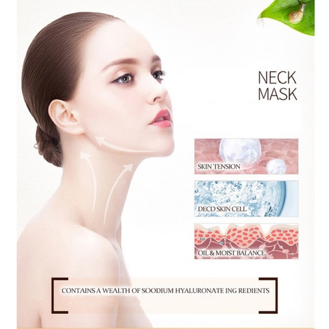 BIOAQUA Anti Aging Neck Mask Anti Wrinkle Skin Care Whitening Nourishing Best Neck Cream Tighten Neck Lift Neck Firming Lahore