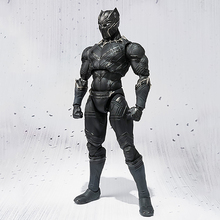 17cm Avengers Infinity War Black Panther Action figure PVC Collectible Figurines Model toys doll Christmas gift